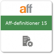 Aff-definitioner 15, Tryckt